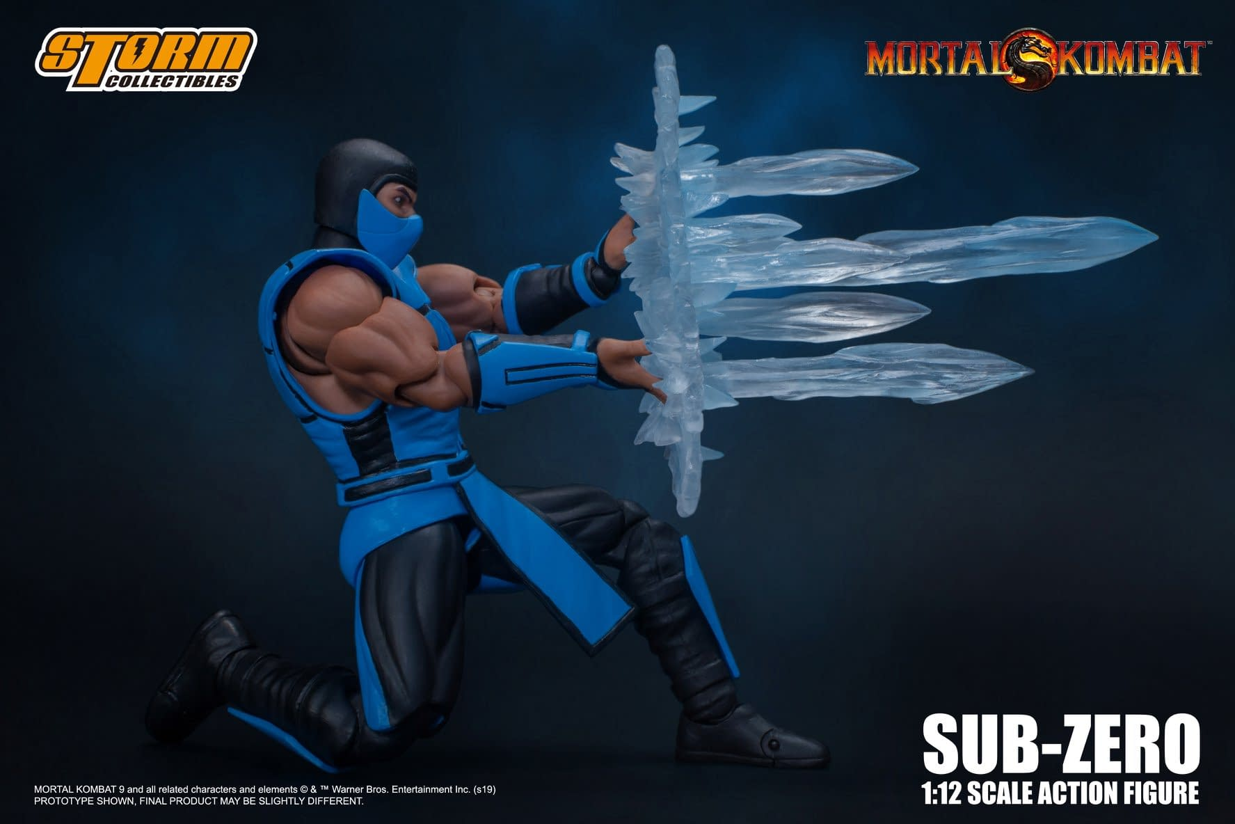 Subzero Brings a Blizzard with New Storm Collectibles Figure