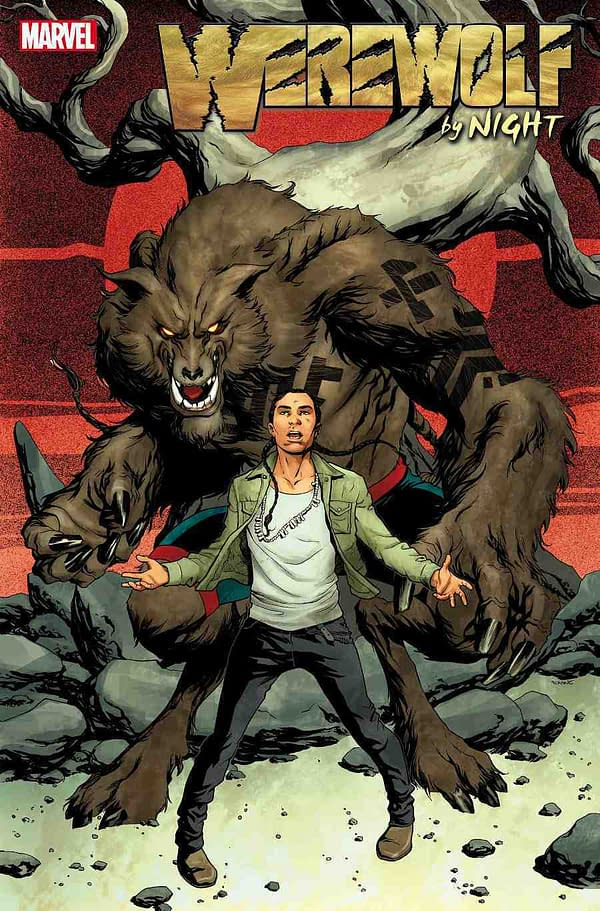Taboo of The Black Eyed Peas Writes a New Werewolf By Night, With Benjamin Jackendoff and Scott Eaton, For Marvel Comics