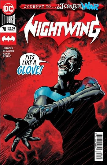 Nightwing #20 Allocated - the Latest From UCS and Lunar Comics Distribution.