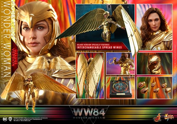 Wonder Woman is Golden in New Hot Toy WW84 Reveal