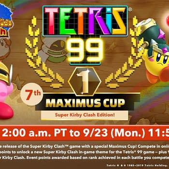 Super Kirby Clash Is Getting A Tetris 99 Maximus Cup