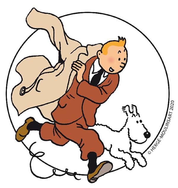 Un jeu vidéo basé sur Les Aventures de Tintin est en route, gracieuseté de Moulinsart.