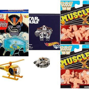 Tons of Mattel SDCC Exclusives: Masters of the Universe WWE Thanos and More