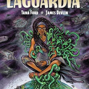 Nnedi Okorafor and Tana Ford Launch New Comic LaGuardia at Berger Books