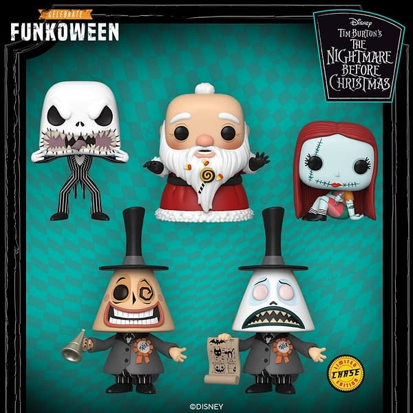 Funko Funkoween Announces New Nightmare Before Christmas Pops