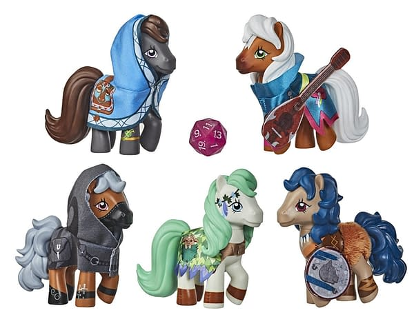 Les figurines My Little Pony x Dungeon & Dragons arrivent à Hasbro