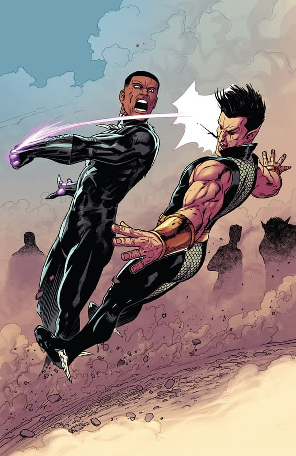 New Avengers #22 art by Kev Walker and Frank Martin