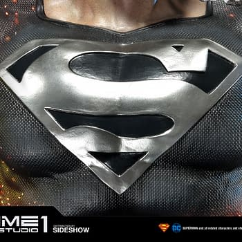 Black Suit Superman Statue from Prime 1 Studio