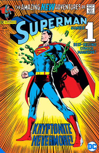 Superman Kryptonite ,one of many DC Big Books in 2020 and 2021