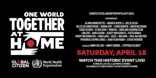 Late-night hosts Jimmy Fallon, Jimmy Kimmel, and Stephen Colbert are teaming up to host One World: Together at Home, courtesy of Global Citizen.