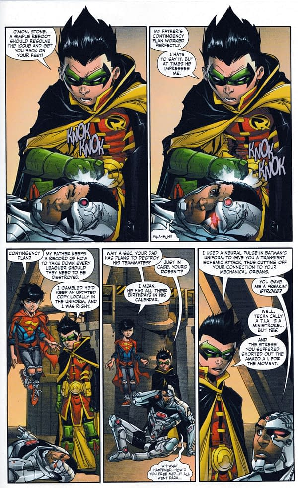 Damian Wayne: A Threat to the Justice League Now? (Super Sons #16 Spoilers)