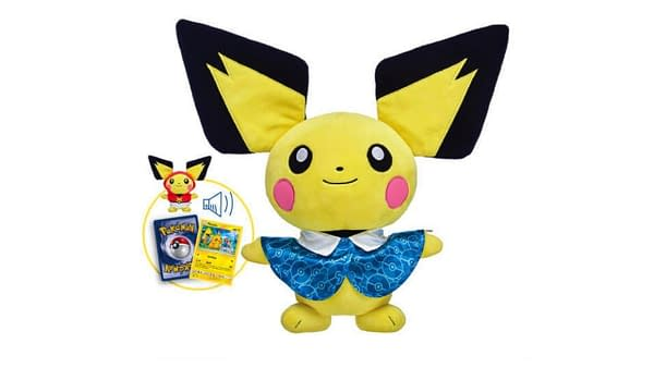 Pichu Gets The Adorable Build-A-Bear Treatment