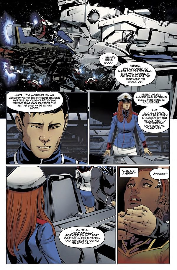 Roy Faces off Against Rick in Robotech #17 (REVIEW)
