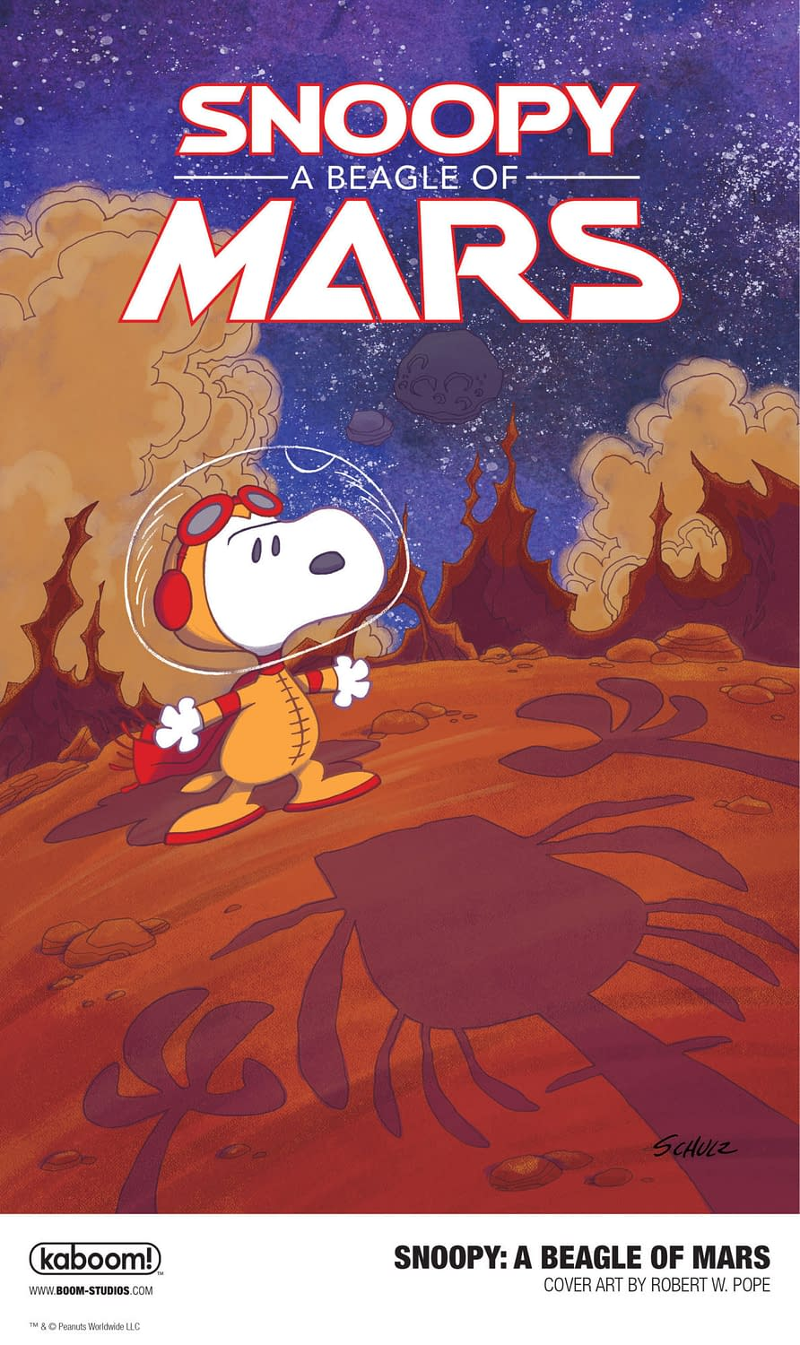 Snoopy: A Beagle of Mars OGN Brings Snoopy to Space