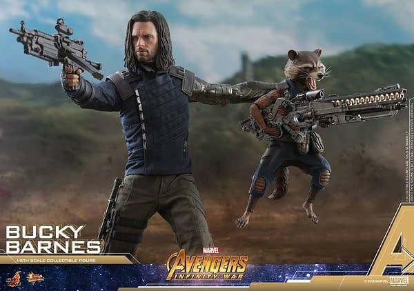 Bucky Barnes Infinity War Hot Toys 3
