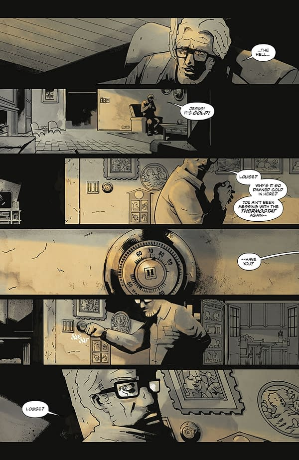 Cold Spots #1 art by Mike Torres