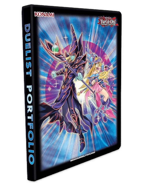 Yu-Gi-Oh! Portfolio du duelliste Dark Magician, gracieuseté de Konami.