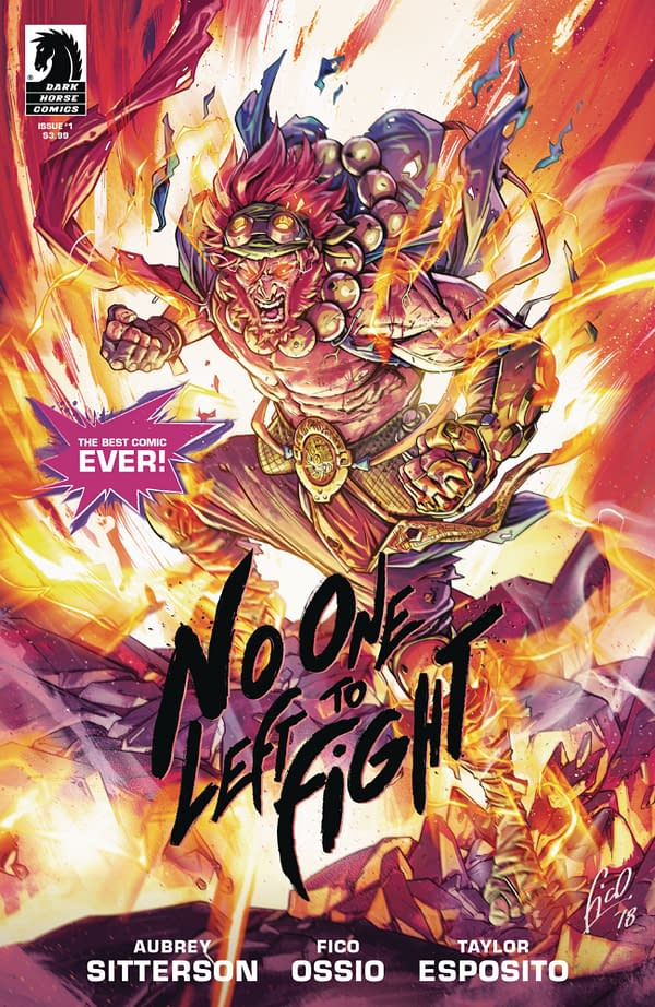 No One Left to Fight #1: The 2nd Printing You Always Wanted