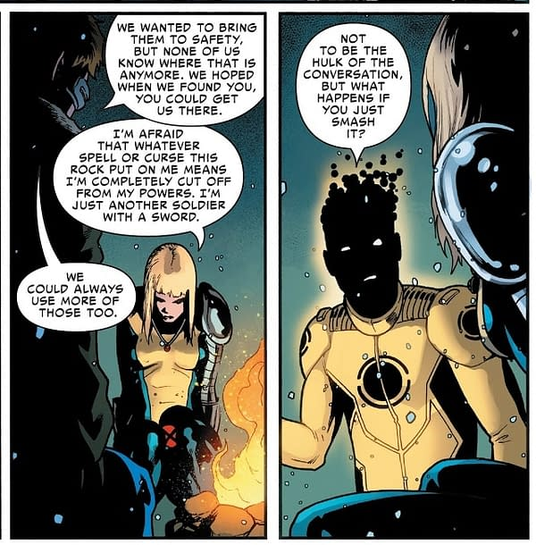 Another New Mutants Casualty in The War Of The Realms? (X-Men #3 Spoiler)