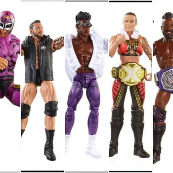 Mattel WWE Eilte 67 Collage