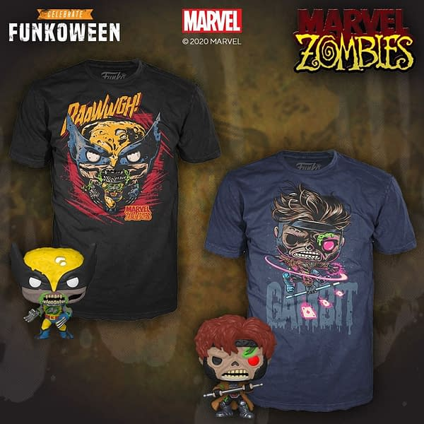 Marvel Zombies Are Getting Funko Pop Tees That Are to Die For
