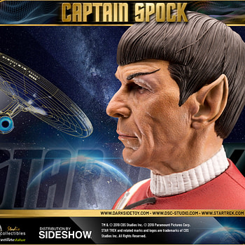 Star Trek Lives Long and Prosper with New Statue from DarkSide