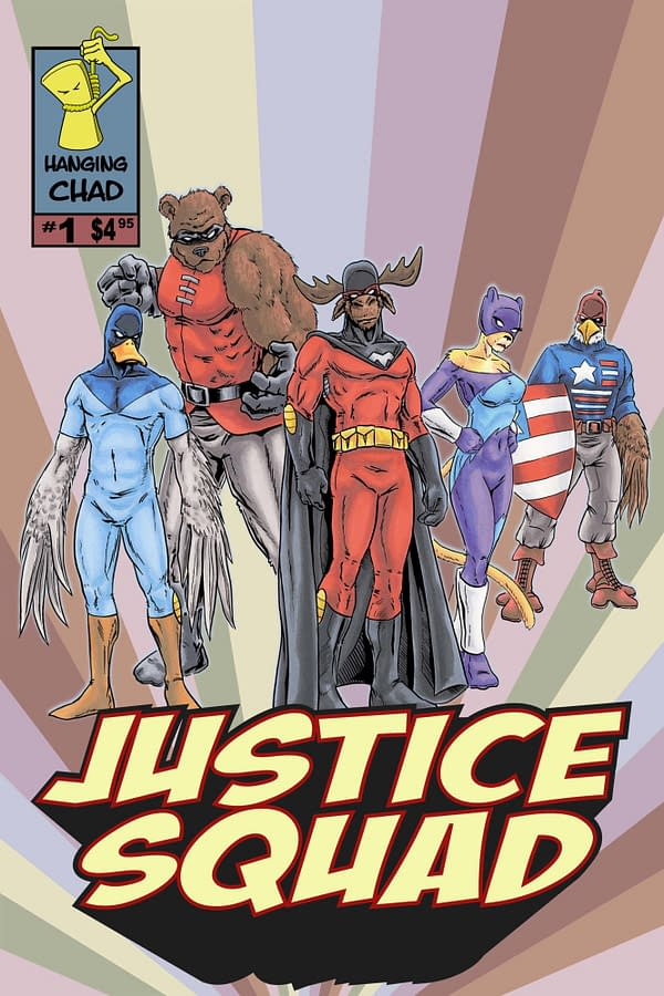 All-Ages Justice Squad Launched With Exclusive Covers for San Diego Comic-Con 2018