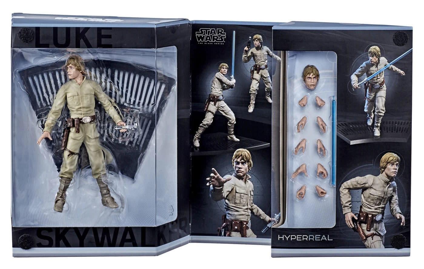 Star Wars The Black Series HyperReal Luke Skywalker from Hasbro