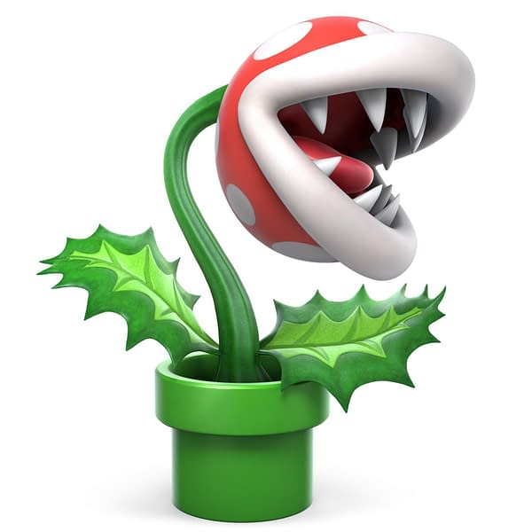 Piranha Plant Set For Super Smash Bros. Ultimate in February