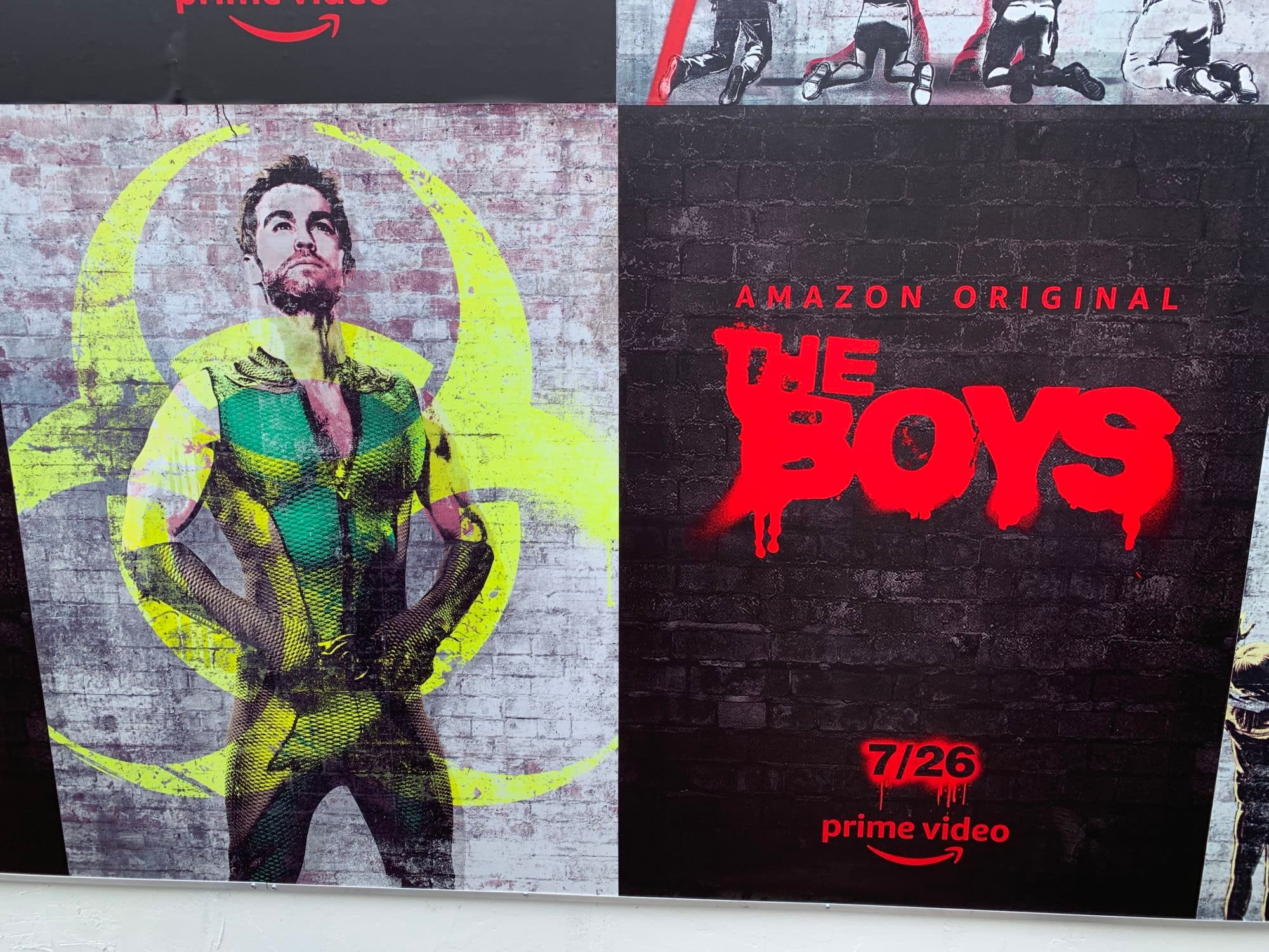 "SDCC 2019: Experiencing ""The Boys"" at the Amazon Prime Video Lot"