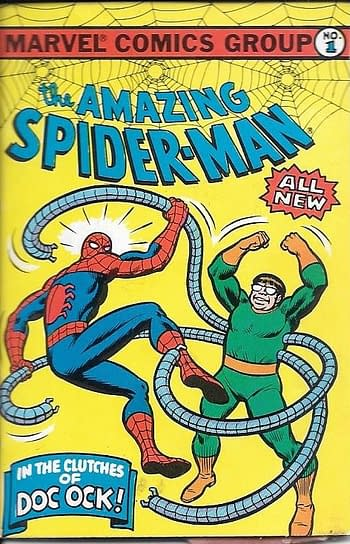 The Amazing Spider-Man In The Clutches Of Doc Ock #1 Front Cover