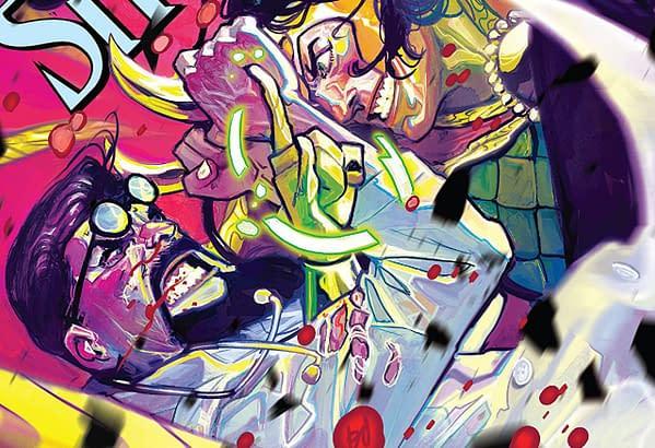 Doctor Strange #385 cover by Mike del Mundo