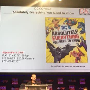 dk books dc everything c2e2 2018