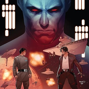 Star Wars: Thrawn #5 Cover by Paul Renaud