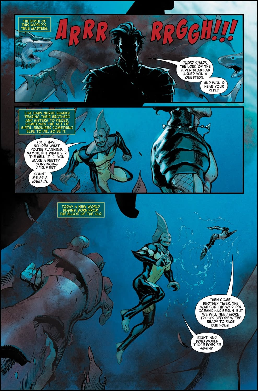Namor Has Finally Entered His Goth Phase in Preview of Avengers #9