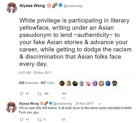 Fake Tweet Used to Try And Discredit New Marvel Comics Writer, Alyssa Wong