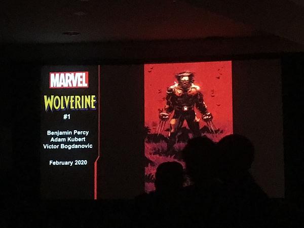 Benjamin Percy and Adam Kubert Relaunch Wolverine for Dawn of X Wave 2