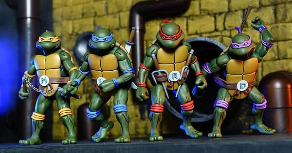 Animated TMNT SDCC Exclusive Set by NECA