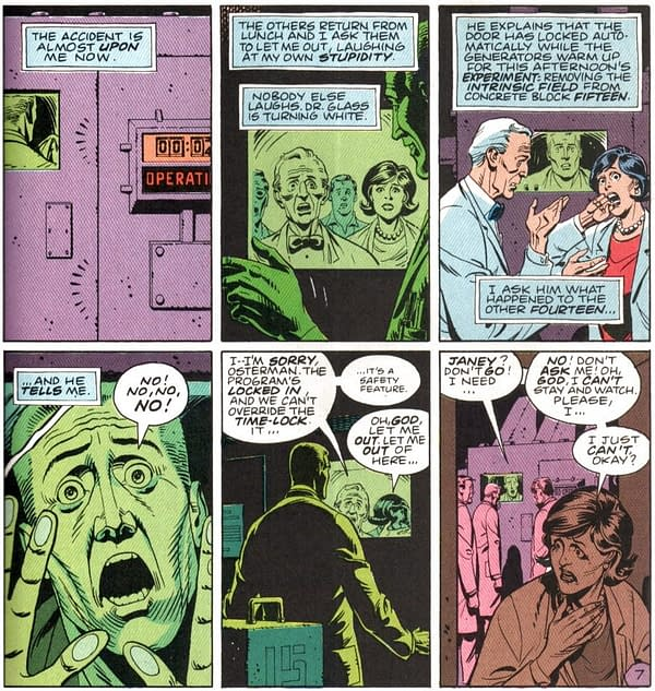 The First Six Pages Of Doomsday Clock #12, The Finale Of This Unauthorised Sequel to Watchmen (Spoilers)