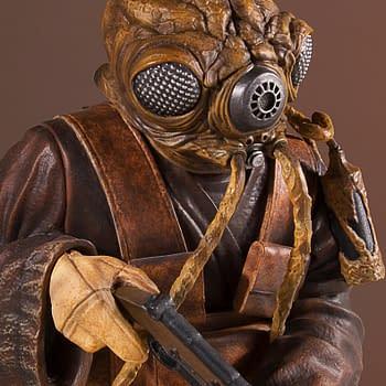 Zuckuss is the Newest Star Wars Bounty Hunter from Gentle Giant