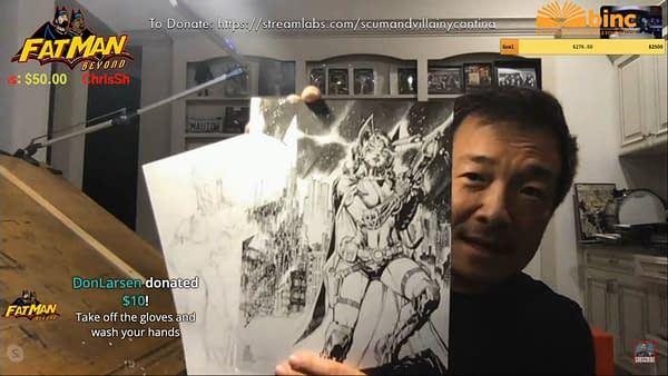 Jim Lee Talks DC Comics Distribution and Batman #92 230,000 Orders.