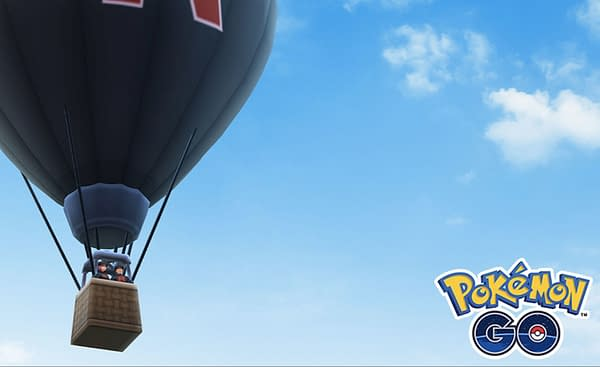 Official artwork for the Team GO Rocket balloon announcement. Credit: Niantic Labs, Inc.