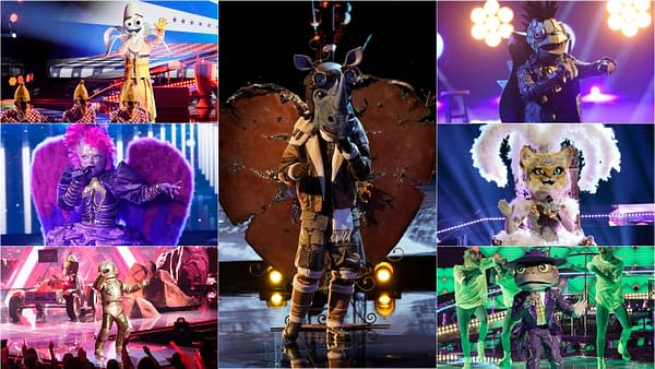 Your season 3 finalists take part in a sing-a-long on The Masked Singer, courtesy of FOX.