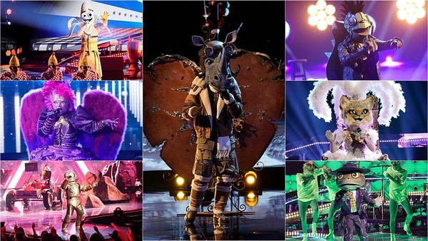 Vos finalistes de la saison 3 participent à un chant long sur The Masked Singer, gracieuseté de FOX.