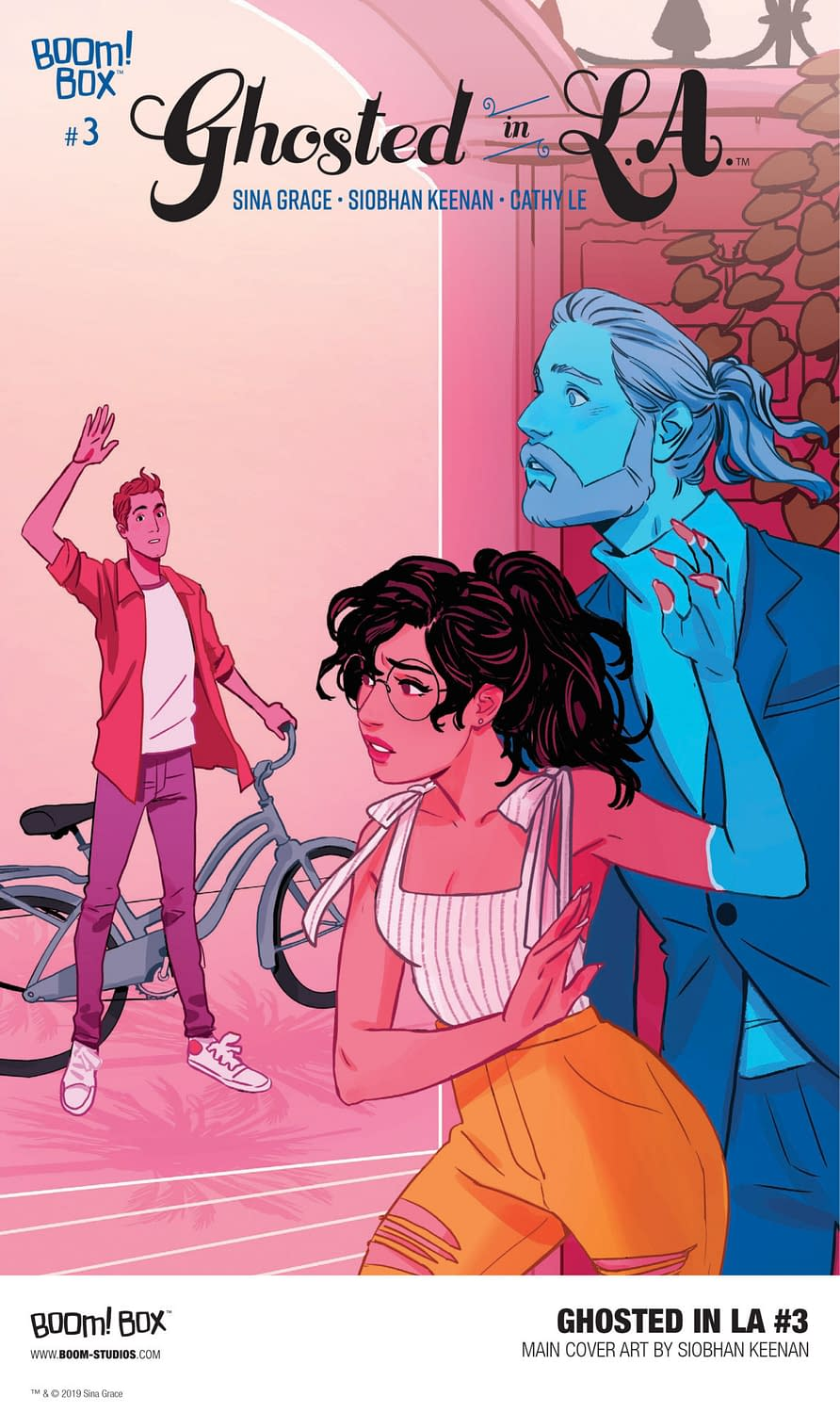 BOOM! Reveals First Look at Ghosted in L.A. #3