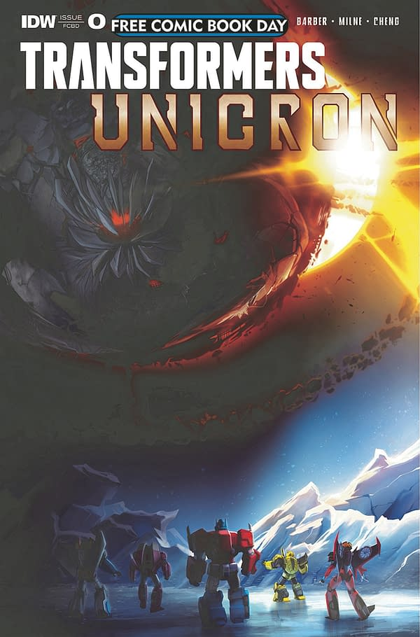 IDW to End Their Transformers Comics Universe with Unicron This Summer #WonderCon 2018