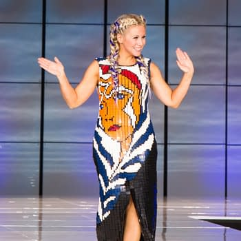 Ashley Eckstein Ahsoka Gown
