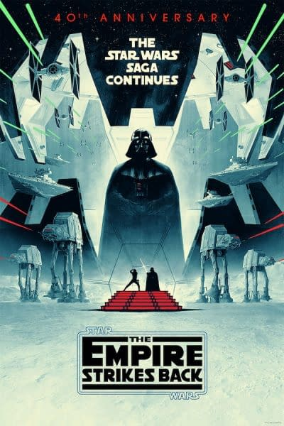 Star Wars: Empire contre-attaque Les affiches du 40e anniversaire sont disponibles dès maintenant