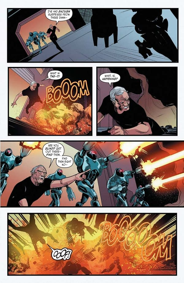 """Michael Moreci's Writer's Commentary on Battlestar Galactica: Twilight Command #5 – """"If We All Had Dads Like Adama, This World Would be a Better Place"""""""