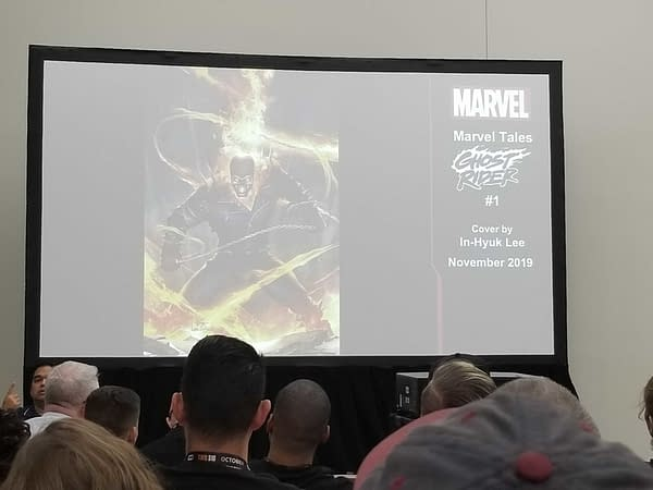 Marvel Unveils 1st Look at Ghost Rider #1, Marvel Tales, and Comic Boxes at SDCC